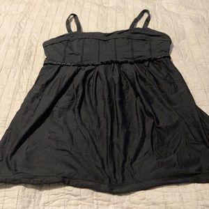Gently worn Lululemon tank with shelf bra size 6